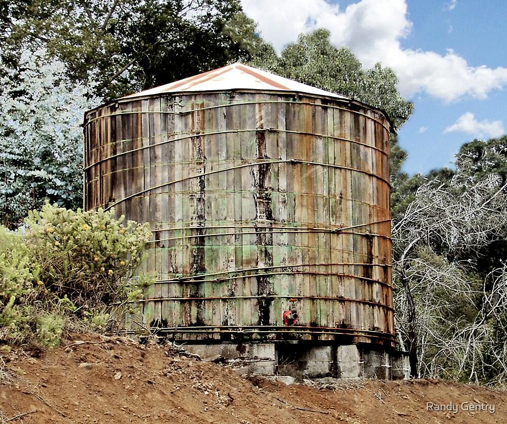 Rustic Water Tank by Randy Gentry