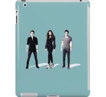 The Vampire diaries damon, stefan, elena iPad Case/Skin