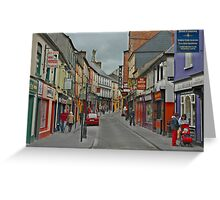 A Day in Ennis Greeting Card