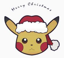 Santa Pikachu by Burashi