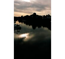 Dawn on the River Dee Photographic Print