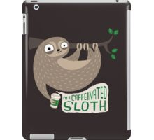Caffeinated Sloth iPad Case/Skin
