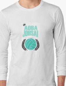 Haikyuu!! Aoba Johsai Design (large)  Long Sleeve T-Shirt