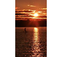 Peaceful Paddle Photographic Print