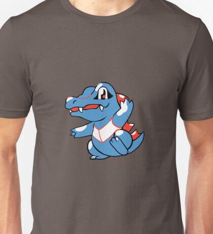 Totodile redone sprite Unisex T-Shirt
