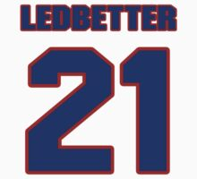 National football player Toy Ledbetter jersey 21 by imsport