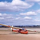 ES49, 2 seater Sailplane. Gawler, South Australia, 1960. by johnrf