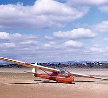 ES49, 2 seater Sailplane. Gawler, South Australia, 1960. by johnrf