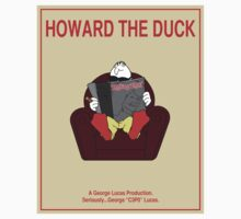 Howard the Duck Movie Poster Kids Tee