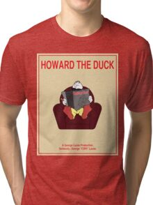 Howard the Duck Movie Poster Tri-blend T-Shirt