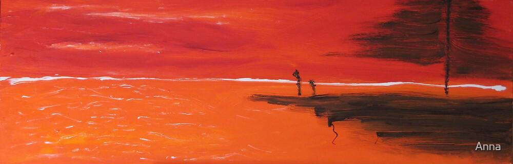 'Drifting' 2007 by Anna