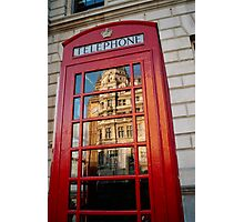 big ben in a telephone box Photographic Print