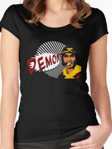 DEMON! the sequel Women's Fitted Scoop T-Shirt