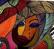 black woman by pecheb