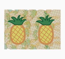 Pineapple Collage Landscape Kids Clothes