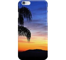 Colorful Sunset for Moms Birthday ~ digital paint effect  iPhone Case/Skin