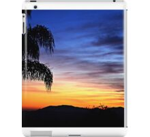 Colorful Sunset for Moms Birthday ~ digital paint effect  iPad Case/Skin