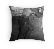 Distraught Throw Pillow