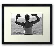 And The Winner Is... Framed Print