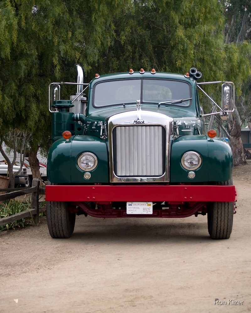 Mack Truck by Ron Kizer