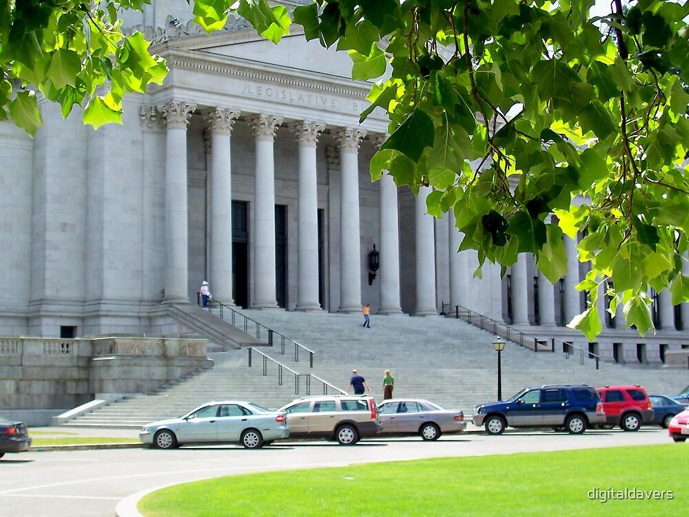Legislative Building by digitaldavers