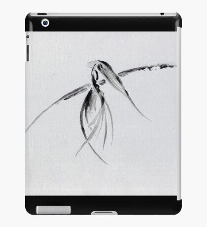 0002 - Brush and Ink - Crow iPad Case/Skin