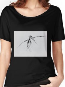 0002 - Brush and Ink - Crow Women's Relaxed Fit T-Shirt