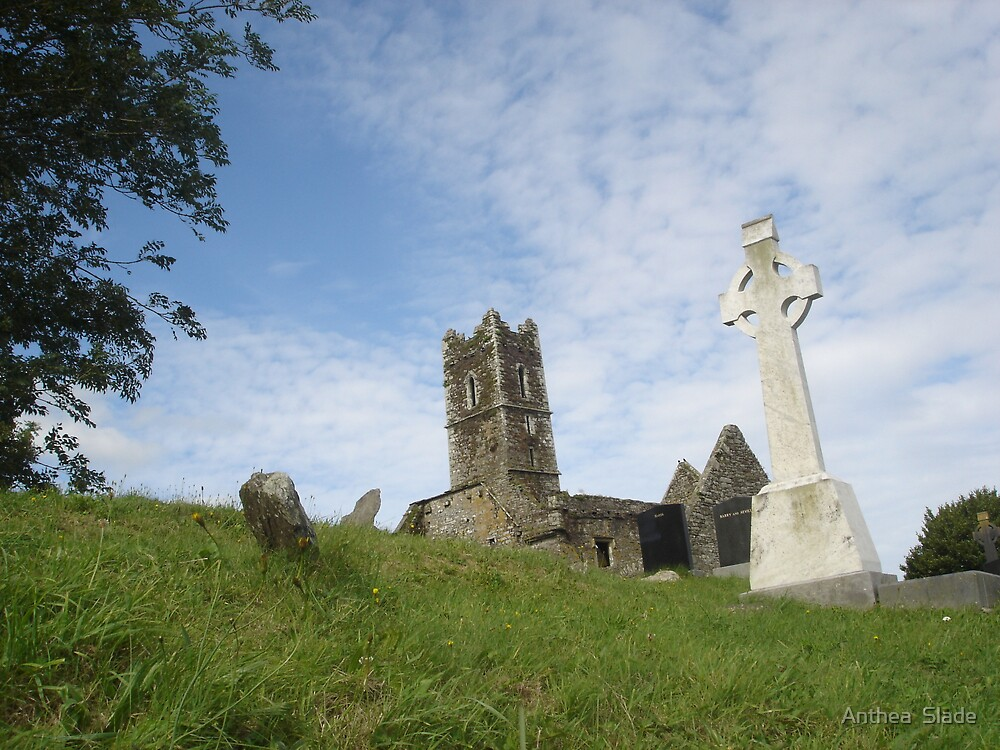 Irish Cross by Anthea  Slade