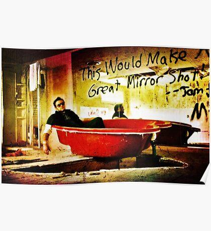 I've got the Bathtub Blues ~ or ~  I Heart Bath Poster
