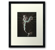 0003 - Brush and Ink - Cut Framed Print