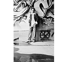 jazzMan 1 Photographic Print