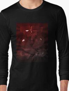0004 - Brush and Ink - Elephant Long Sleeve T-Shirt