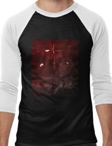 0004 - Brush and Ink - Elephant Men's Baseball ¾ T-Shirt