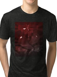 0004 - Brush and Ink - Elephant Tri-blend T-Shirt
