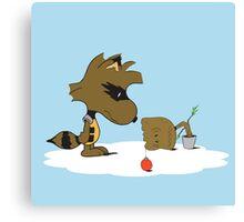 Merry Grootmas! Canvas Print