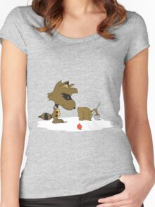 Merry Grootmas! Women's Fitted Scoop T-Shirt