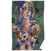 Recycled Woman Poster