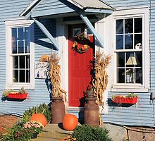 Halloween Decorative Doorway  by jonathaninvermont