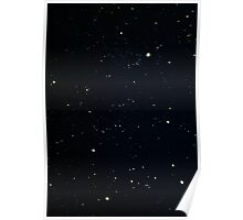 Painted Stars Poster