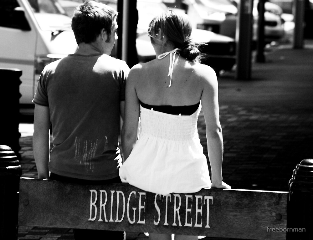 """We've come to the bridge we were going to cross when we came to it"" by freebornman"