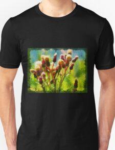 Bunch of flowers under a shining sun T-Shirt