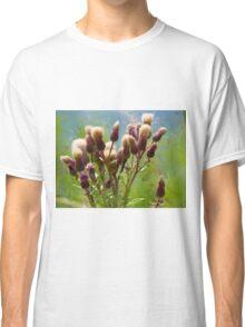 Bunch of flowers under a shining sun Classic T-Shirt