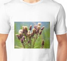 Bunch of flowers under a shining sun Unisex T-Shirt