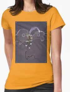 0007 - Brush and Ink - Kite Womens Fitted T-Shirt