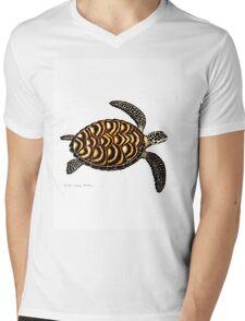 Hawksbill Sea Turtle Mens V-Neck T-Shirt