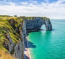 Etretat cliffs by JJFarquitectos