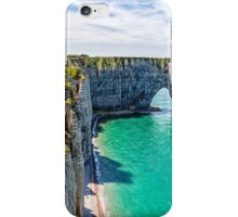 Etretat cliffs iPhone Case/Skin