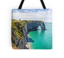 Etretat cliffs Tote Bag