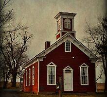 Little Red Schoolhouse by Debra Fedchin