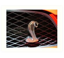 Cobra GT500 Art Print